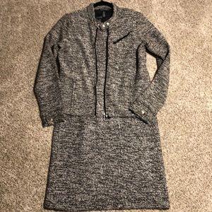 Lauren Ralph Lauren Boucle Dress/Moto Jacket